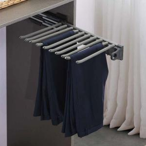 Side mounted  trousers rack